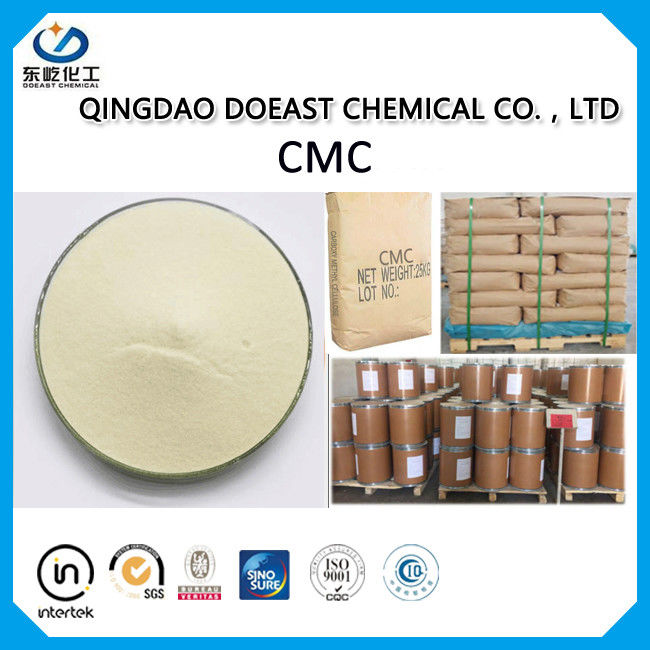 Cream White CMC Carboxymethyl Cellulose Food Additive For Drink Produce