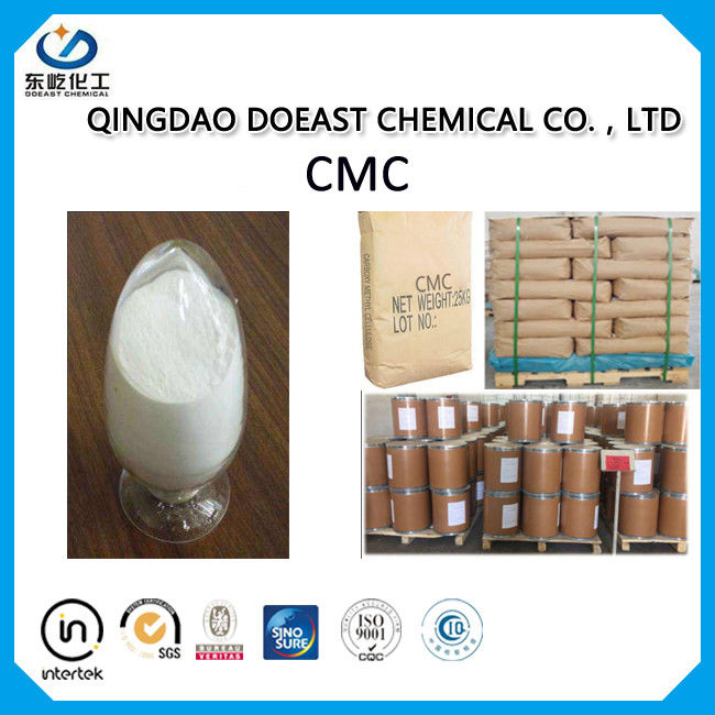 Food Thickener Sodium CMC Carboxymethyl Cellulose LV For Dairy Stabilizers HS 39123100