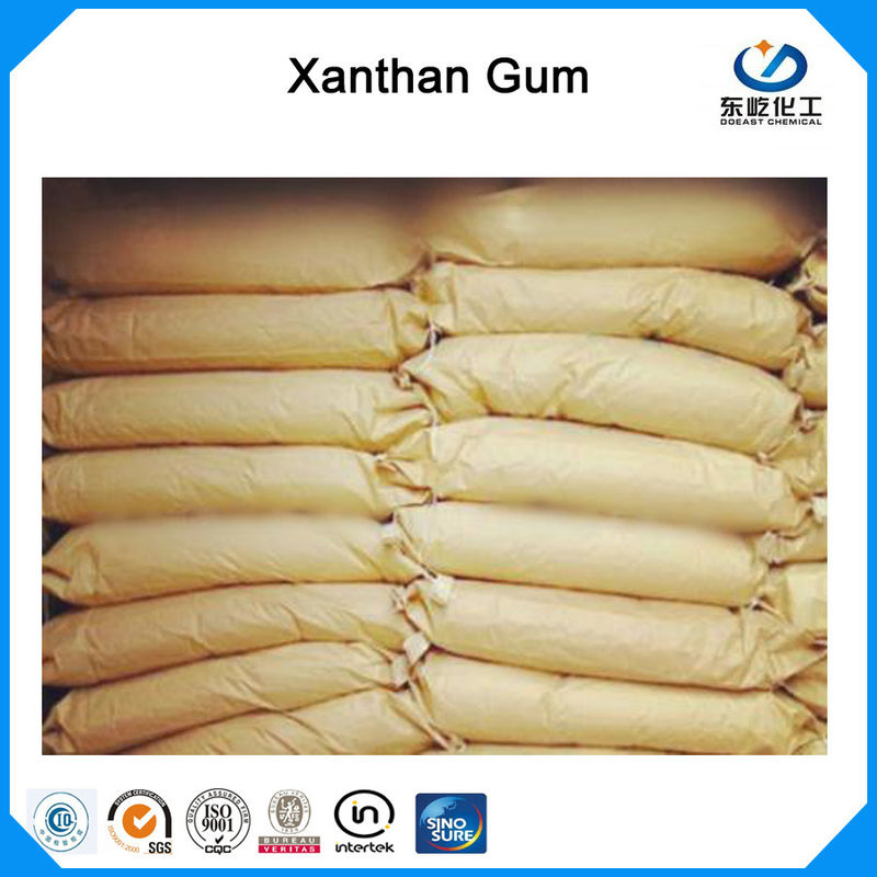 25kg Bag Package Xanthan Gum Food Grade 99% Purity 80 Mesh Water Soluble